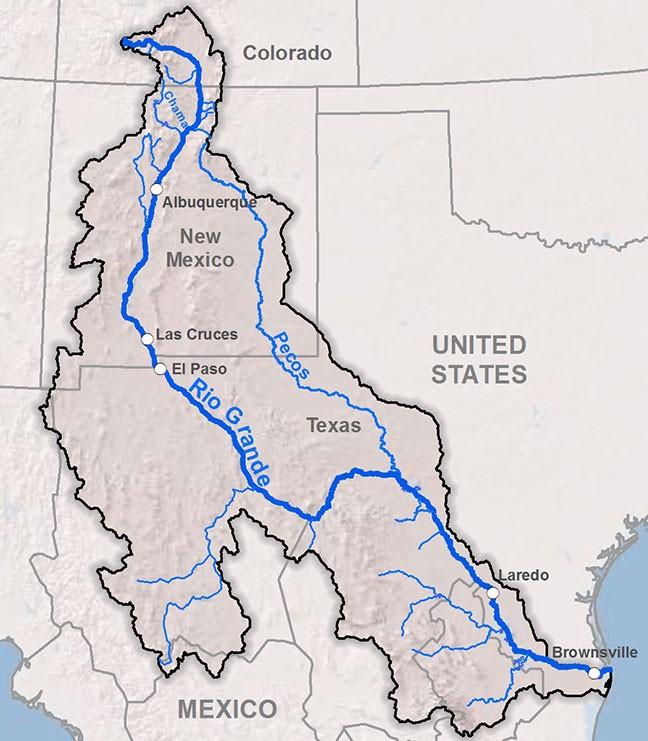 Rio Grande Basin Map